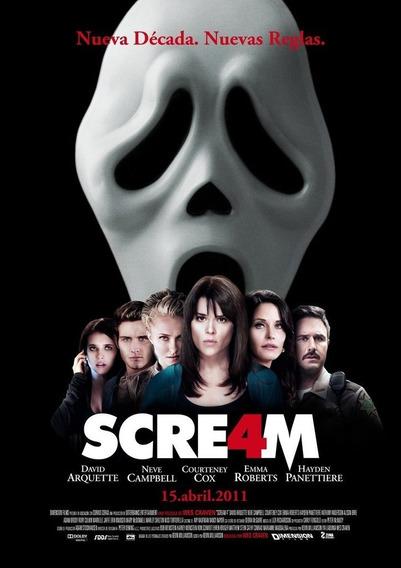 Poster Original Cine Scream 4