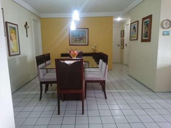 Apartamento Em Jaqueira, Recife/pe De 125m² 3 Quartos À Venda Por R$ 640.000,00 - Ap359593