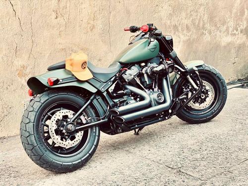 Imagem 1 de 7 de Harley Davidson Softail Fat Bob 114