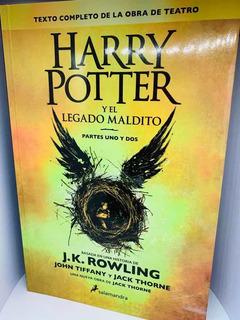 Libro Harry Potter Y El Legado Maldito + Envio Gratis
