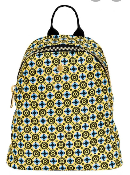 Mochila Jackie Smith Monogram Dearbackpack Verde Amarillo Ro