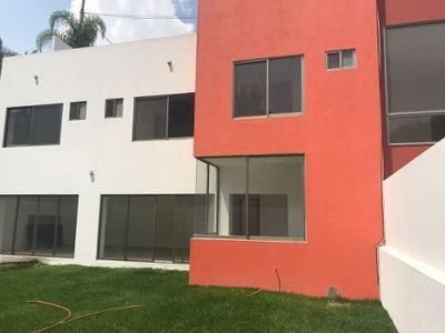 Hermosa Casa Para Estrenar En Fracc. Punta Real, Cuernavaca Morelos