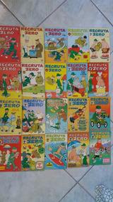Lote Recruta Zero Com 43 Hqs -rge 1976 A 1980 E Saber 1990
