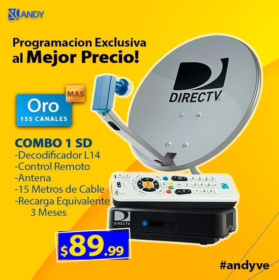 Decodificador Directv Kit Hd Tiendaf Promocion Conexa