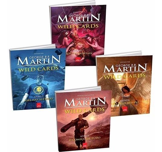 Coleção Wild Cards - George R. R. Martin (4 Livros) #