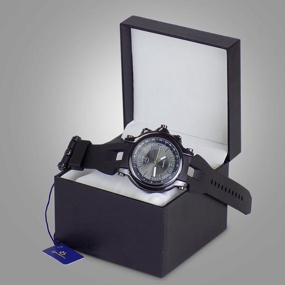 Relógio Orizom Spaceman Original Borracha C/ Nota Fiscal