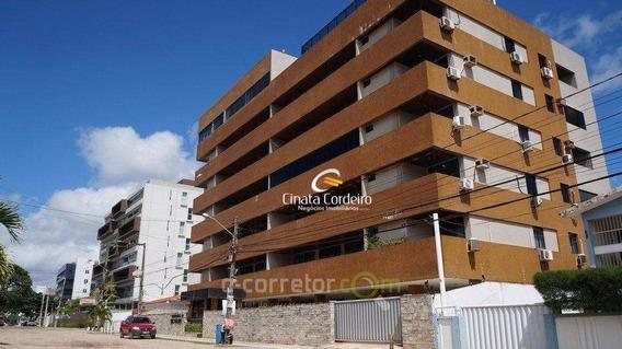 Apartamento Com 3 Dormitórios À Venda, 120 M² Por R$ 480.000 - Camboinha - Cabedelo/paraíba - Ap2496