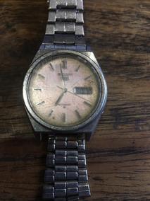 Relógio A Corda Seiko 5 De Pulso Antigo Automat 004