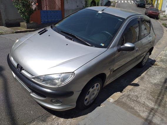 Peugeot 206 Presence 1.4 4p Flex 06/07 Completo