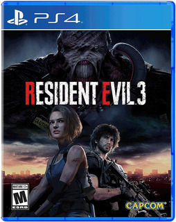 Resident Evil 3 Remake - Ps4 Digital 1°ria - M Store