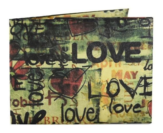 Billeteras De Papel Tyvek® - Monkey Wallets® - Love