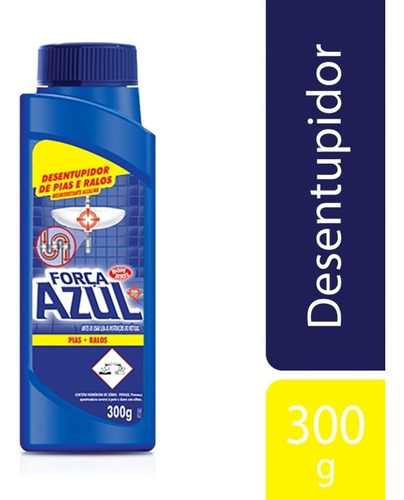 Desentupidor Po Forca Azul 300g