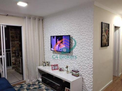 Apartamento Com 3 Dormitórios À Venda, 77 M² Por R$ 515.000,00 - Jardim Flor Da Montanha - Guarulhos/sp - Ap3590
