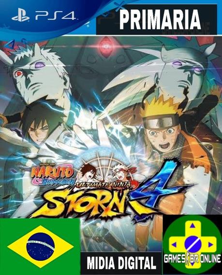 Naruto Storm 4 - Ps4 Code 1 Envio Hoje Português