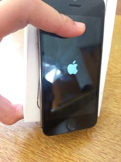 iPhone 5s Com Caixa Com Defeito Itunes (retirada De Peças)