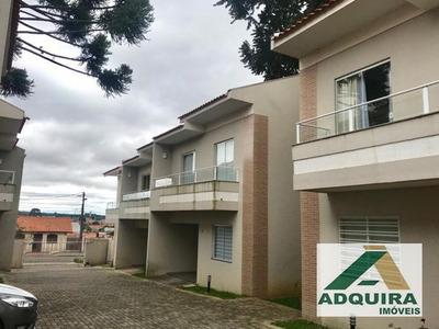 Casa Sobrado Em Condomínio Com 3 Quartos No Vila Araucaria - 6032-v