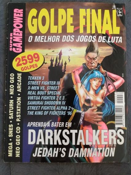 Revista Super Gamepower Golpe Final Nº 03 Kof Tekken X-men