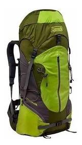 Mochila Backpack Alpinismo Tolima 60 Litros Verde Coleman