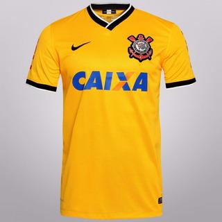 Camisa Corinthians Amarela Pronta Entrega