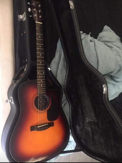 Remato Guitarra Fender Cd 60 Ce Electroacustica, Excelente.