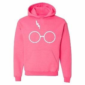 Blusa Moletom Casaco Harry Potter Óculos Cicatriz Geek!!!
