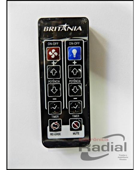 Controle Remoto Para Ventilador De Teto Cancun Britânia