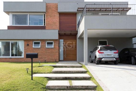 Casa Condominio Em Belém Novo Com 3 Dormitórios - Lu431224