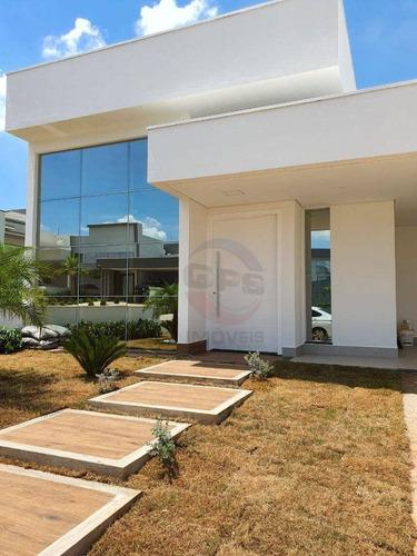 Casa Com 3 Dormitórios À Venda, 188 M² Por R$ 1.390.000,00 - Condomínio Dona Maria José - Indaiatuba/sp - Ca11753