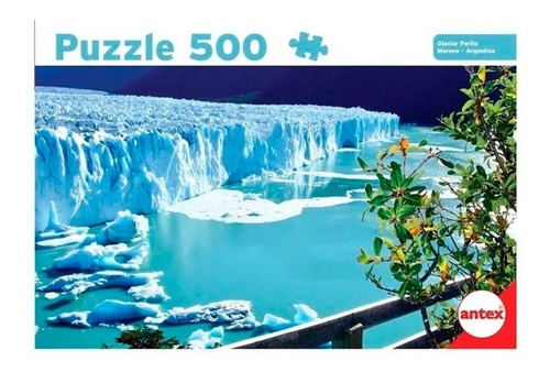 Antex Puzzle Glaciar Perito Moreno Argentina 500 Pzs 3055 Ef