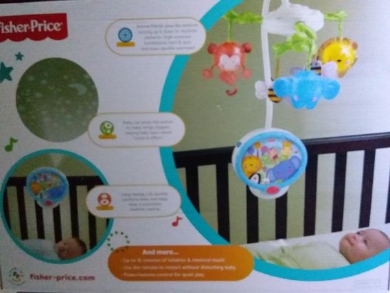 Movil Proyector Para Cuna D Bebe
