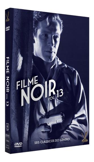 Dvd Filme Noir Vol 13 - 3 Discos 6 Filmes - Edição Sem Cards