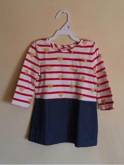 Vestido Babygap Para Niña 12-18 Meses