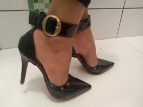 3620382264 Scarpin Tornozeleira - Scarpins para Feminino no Mercado Livre Brasil