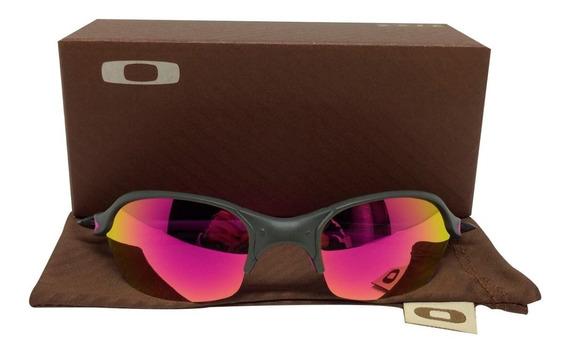 Oculos Oakley Romeo2 Xmetal Rosa + Frete Grátis Top De Linha