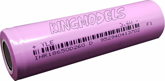 Bateria Li-ion 18650 - Rontek - 2600mah - 10a