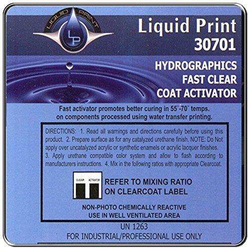 Fast Clear Endurecedor De 1 Litro - Líquido Print Hydrograph