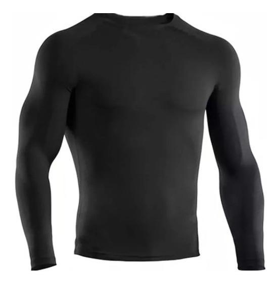 Kit 3 Camisa Térmica Proteção Uv 50 Segunda Pele Compressão
