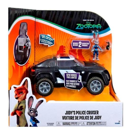 Zootopia Judy Camioneta De Policía Con 2 Muñecos Disney Tomy