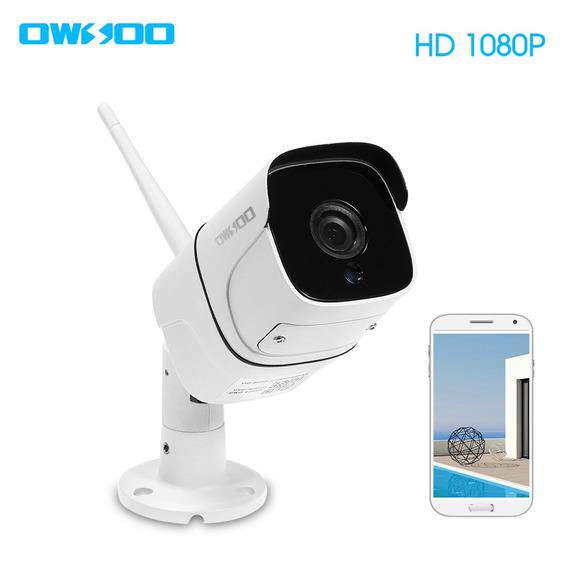 Owsoo Ca-831c-r Wi-fi Câmera De Segurança Sem Fio Full Hd