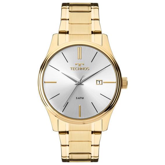 Relógio Masculino Technos Dourado 2115mpn/4k