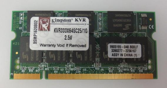Memoria Notebook Sodimm Ddr1 1 Gb 2700/333 Nuevas