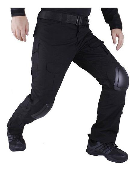 Pantalon Tactico Airsoft Gotcha Pinball Incluye Rodilleras