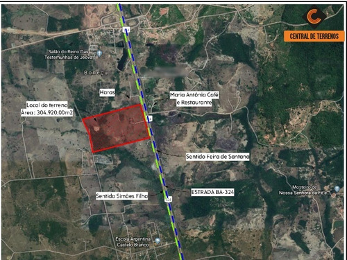 Imagem 1 de 4 de Area Industrial Na Br 324 - Te00473 - 69889310