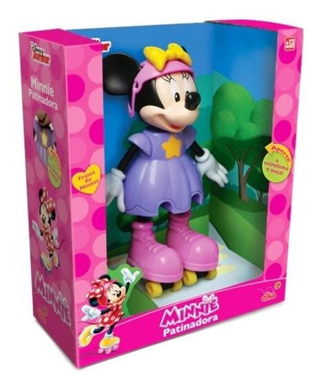 Boneca Minnie Patinadora C/ Som Original Disney - Elka