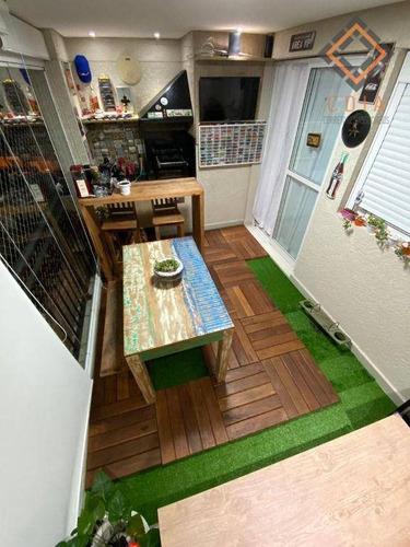 Imagem 1 de 19 de Apartamento Com 2 Dormitórios À Venda, 60 M² Por R$ 490.000,00 - Sacomã - São Paulo/sp - Ap55297