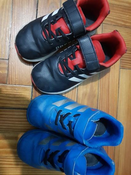 Zapatillas Messi Y Predator adidas!!!!lote Combo Por Las Dos