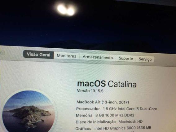 Macbook Air I5 8gb M.2 128gb A1466 Ano 2017