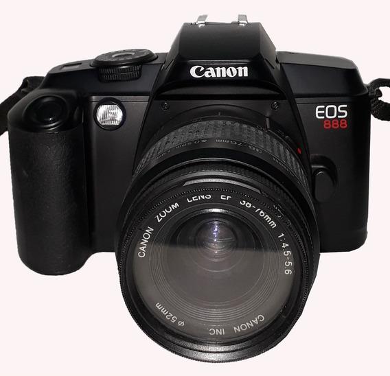 Maquina Fotográfica Analógica Canon Eos 888 Retirada De Peça