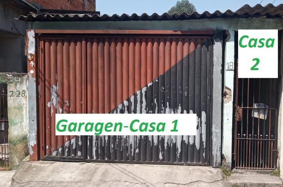 Vendo 2 Casas Em Uma ( Entradas Separadas C/ Garagem)