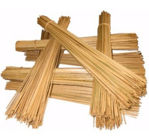 Vareta De Bambu Pipas Maço De 1000 Varetas Taquara
